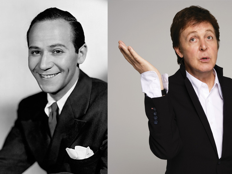 Frank Loesser and Paul McCartney