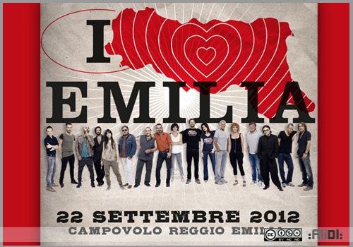 Italia Lves Emilia - concerto campovolo